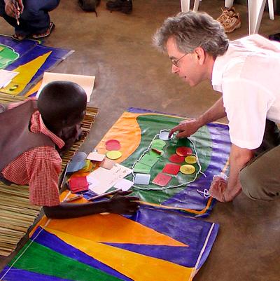 Dr. Rob Chase in Uganda